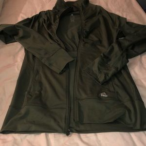 Adidas jacket army green m